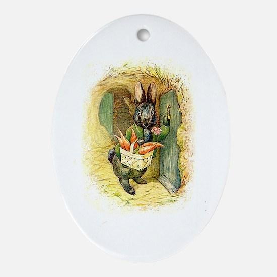 Beatrix Potter * Revamped #4 - Oval Ornament