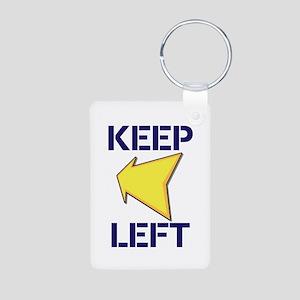 Keep Left Keychains