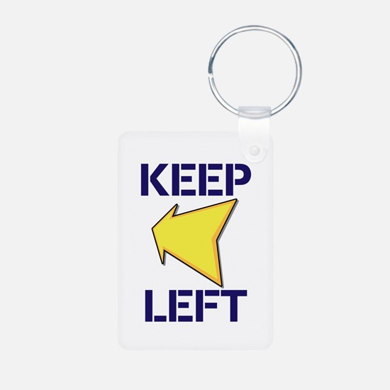 Keep Left Keychains