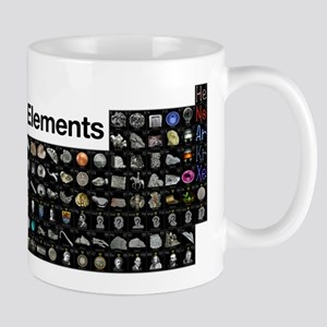 The Periodic Table of Elements Mugs