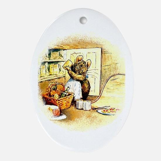 Beatrix Potter * Revamped #5 - Oval Ornament