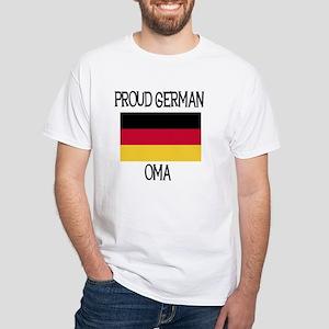 Proud German Oma White T-Shirt