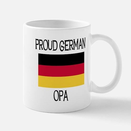 Proud German Opa Mug