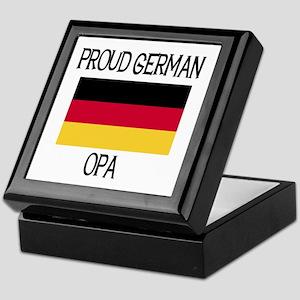 Proud German Opa Keepsake Box
