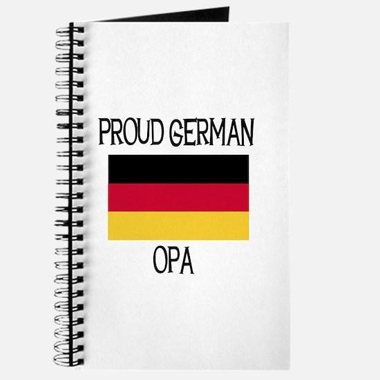 Proud German Opa Journal