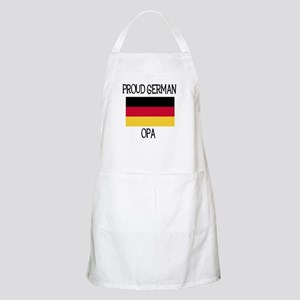 Proud German Opa BBQ Apron