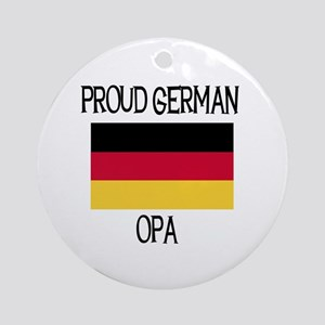 Proud German Opa Ornament (Round)