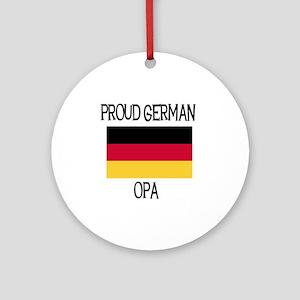 Proud German Opa Ornament (Round)
