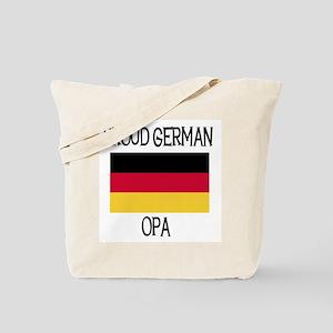 Proud German Opa Tote Bag