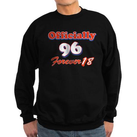 officially 96 forever 18 Sweatshirt (dark)