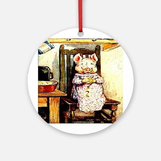 Beatrix Potter * Revamped #7 Ornament (Round)