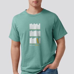 Love Your Library Mens Comfort Colors Shirt