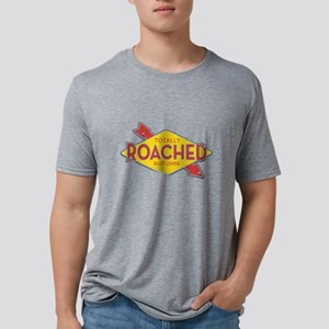 Totally Roached Rust Lover Mens Tri-blend T-Shirt
