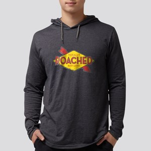 Totally Roached Rust Lover Mens Hooded Shirt