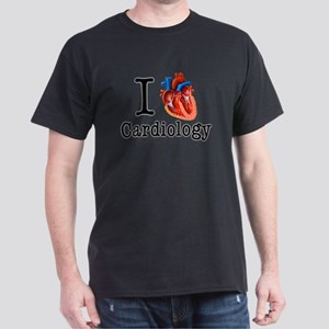 I love Cardiology Dark T-Shirt