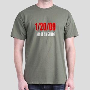 End of an Error Dark T-Shirt