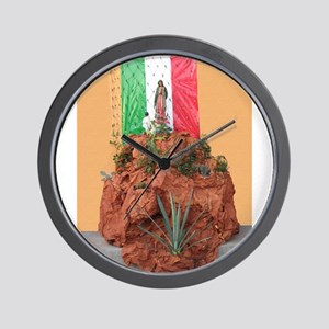 Virgin of Guadalupe Shrine Wall Clock