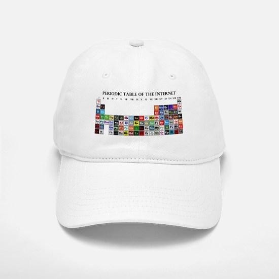 Periodic Table of Internet Baseball Baseball Baseball Cap