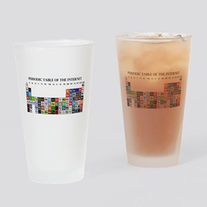 Periodic Table of Internet Drinking Glass