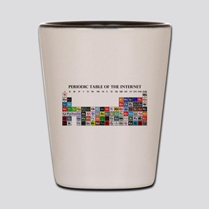 Periodic Table of Internet Shot Glass