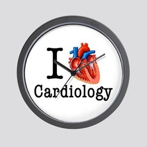 I love Cardiology Wall Clock