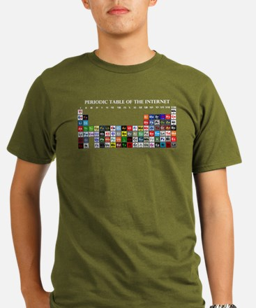 Periodic Table of Internet T-Shirt