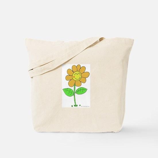 Happy Flower Tote Bag