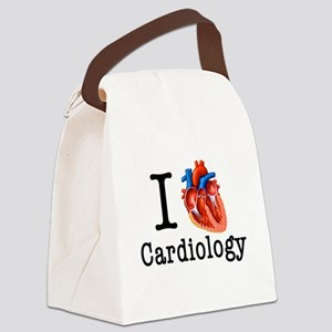 I love Cardiology Canvas Lunch Bag