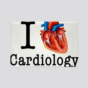 I love Cardiology Rectangle Magnet