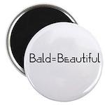 Bald = Beautiful Magnet