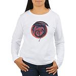 Black Dragon Women's Long Sleeve T-Shirt