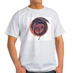 Black Dragon Ash Grey T-Shirt