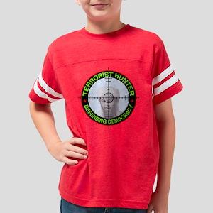 DISPLAY - TERRORIST HUNTER DE Youth Football Shirt
