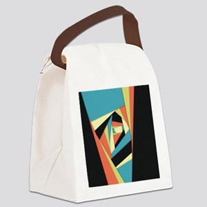 Layers of Color Canvas Lunch Bag