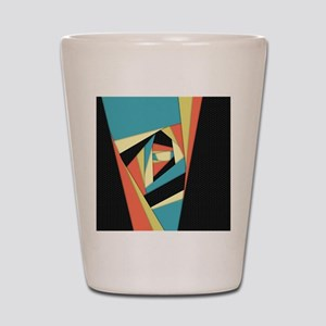 Layers of Color Shot Glass