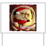 Happy Christmas Yard Sign