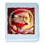 Happy Christmas baby blanket
