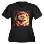 Happy Christmas Plus Size T-Shirt