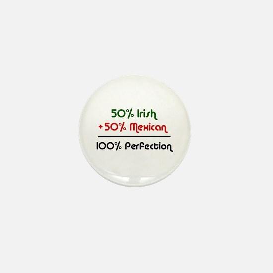 Irish & Mexican Mini Button
