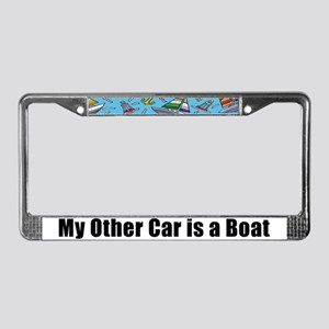 Other Boating Stuff License Plate Frame