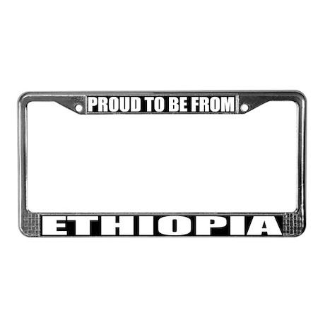 Ethiopia License Plate Frame