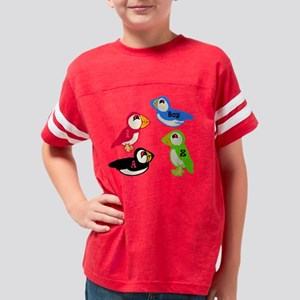 puffins1 Youth Football Shirt