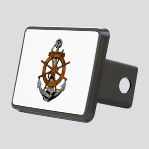 Ship Wheel And Anchor Hitch Cover