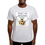 BzzzBee! Ash Grey T-Shirt