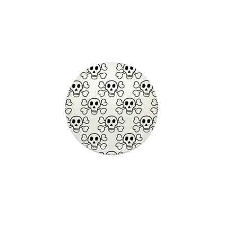 'Crossbones' Mini Button (10 pack)