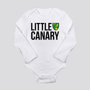 Norwich Little Canary Long Sleeve Infant Bodysuit