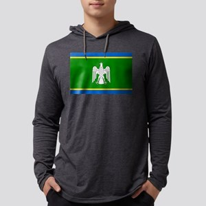 Chernivtsi Oblast Flag Ukraine U Mens Hooded Shirt