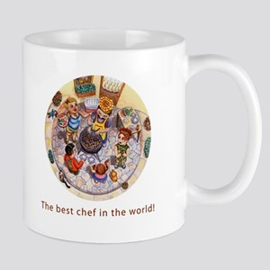 The best chef in the world! mug