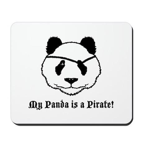 My Panda is a Pirate Mousepad