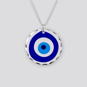Evil Eye Magic Necklace Circle Charm